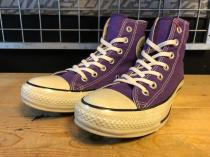 converse ALL STAR COLORS CLASSIC HI (パープル) USED