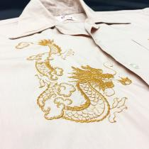 【 embroidery design s/s shirt 】 recommend for Men.