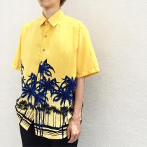 【 yellow body s/s hawaiian shirt 】 recommend for Men.