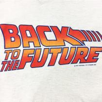 【 80s BACK TO THE FUTURE PRINTED T-SHIRT 】 recommend for Men. . Thank you sold out!!