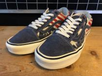 VANS OLD SKOOL LITE (星条旗柄) USED