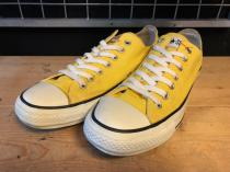 converse ALL STAR COLORS OX (レモンイエロー) USED
