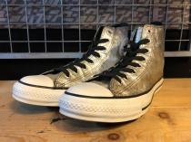 converse ALL STAR SHINY HI (シルバー) USED