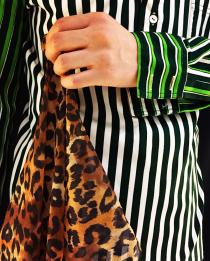 【 animal pattern scarf 】