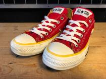converse ALL STAR OX (レッド/イエロー) USED