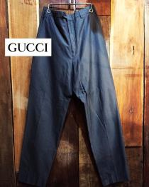 【 GUCCI 】 solid color trousers recommend for Men.