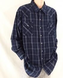 【 checked pattern l/s shirt 】 recommend for Men.