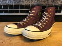 converse ALL STAR G-STUDS HI (パープル) USED