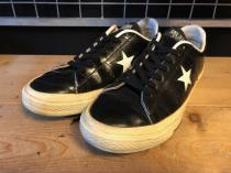 converse ONE STAR OX (ブラック) USED