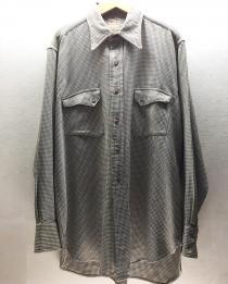 【 40's levis longhorn l/s western  shirt 】 recommend for Men.