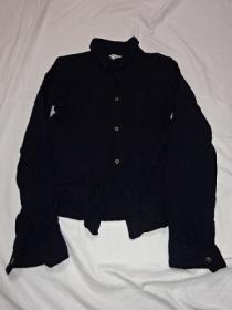 Design Wool Long Sleeve Shirt