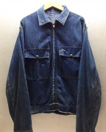 【 50's work master denim zip jkt 】