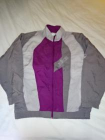1990's 3 Tone Nylon Zip-Up Jacket