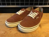 VANS AUTHENTIC (ブラウン) USED