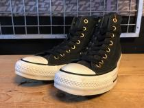 converse ALL STAR GOLDMARK HI (ブラック) USED