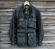Vintage Belstaff Road MasterⅡ Wax Cotton Jacket (38) OJK-10
