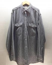 【 50's CANT BUSTEM HICKORY WORK SHIRT 】 recommend for Men.