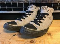 converse ALL STAR MID (グレー/ブラック) USED