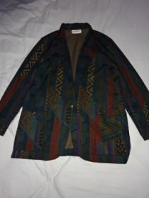 1980's Print Tailored Jacket