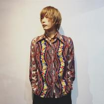 【 wholepattern design l/s shirt × wholepattern scarf】 recommend for Men.