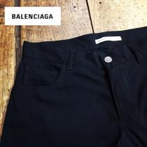 【 BALENCIAGA 】 Solid color trousers