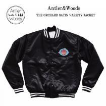 Antler&Woods/アントラー&ウッズ/THE ORCHARD SATIN VARSITY JACKETが入荷。
