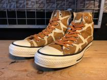 converse ALL STAR NIGHT GIRAFFE HI (ブラウン) USED