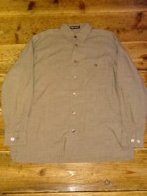 1990's Loose Silhouette Design Long Sleeve Shirt