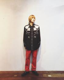 【 embroidery western l/s shirt 】 recommend for Men.