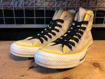 converse ALL STAR LEYERING HI (グレー/イエロー) USED