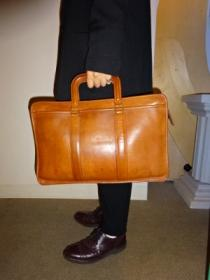 Leather Big Hand Bag