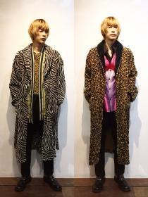 【 animal pattern design long gown 】 recommend for Men.