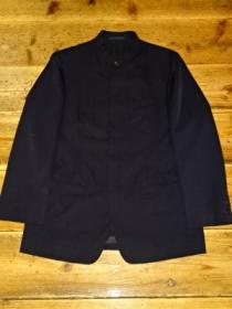 Design Mao-Collar Wool Jacket