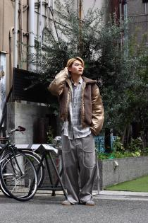 SYU. HOMME/FEMM 2018-19AW Relax corduroy Pants