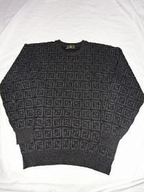 Design Crew-Neck Sweater