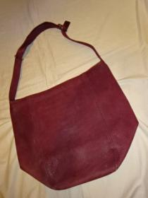 Leather Big Shoulder Bag COACH