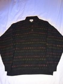 1980~90's Euro Polo-Collar Sweater