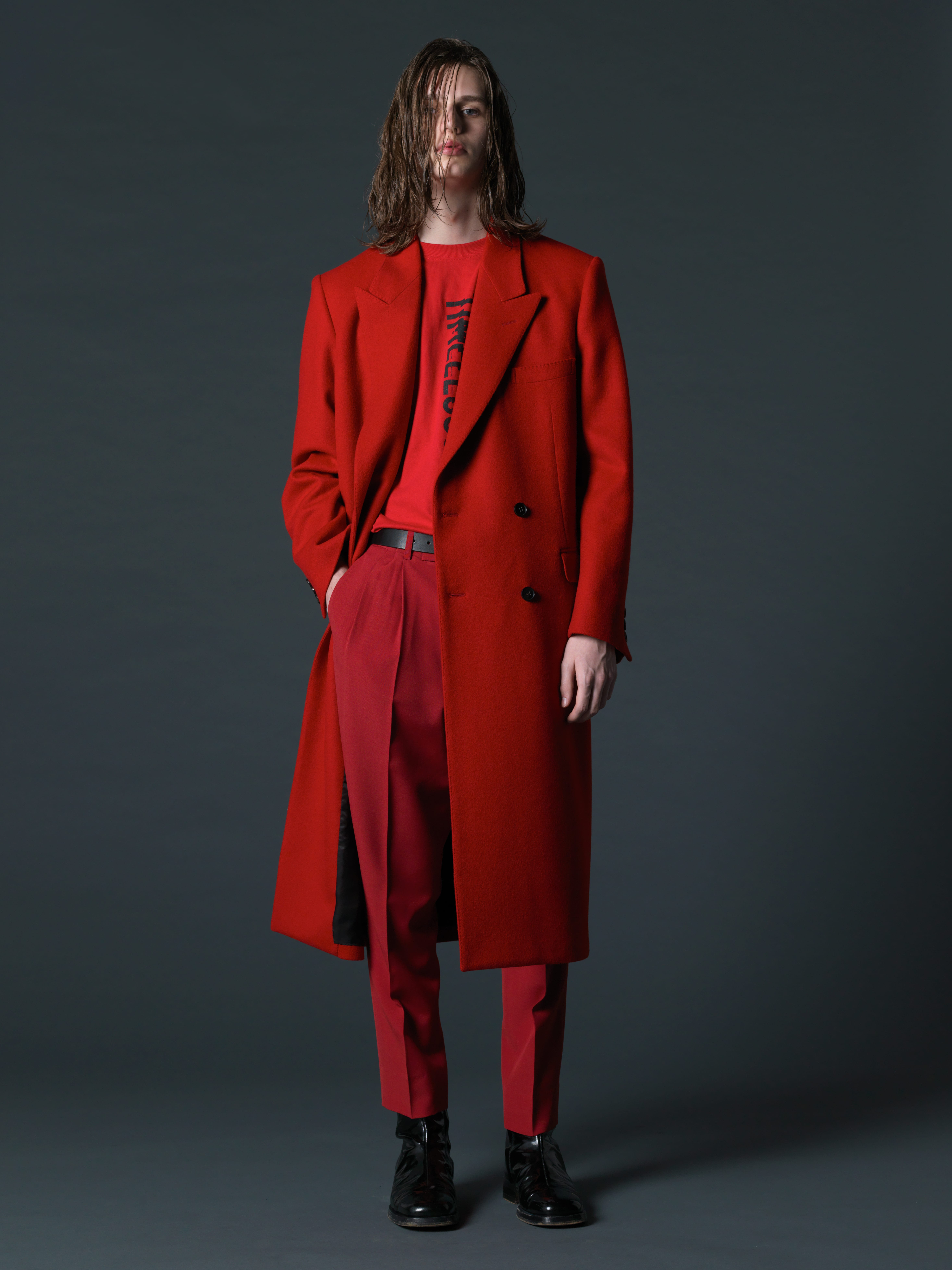 LITTLEBIG Chesterfield Coat(RED)
