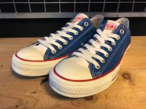converse ALL STAR BRIGHT OX (ブルー) USED