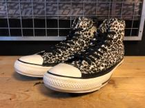 converse ALL STAR GRUNGELEOPARD (ベージュ) USED