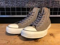 converse ALL STAR ZIPS MT HI (グレー) USED