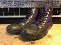 converse ALL STAR OD-BOOT HI (パープル/ブラック) USED