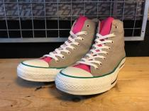 converse ALL STAR P-POP HI (グレー) USED