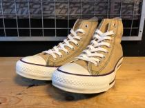 converse ALL STAR C-ON-C HI (ベージュ) USED