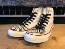 converse ALL STAR SIGN HI (オプティカルホワイト) USED