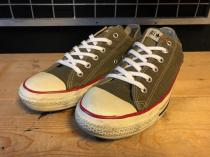 converse ALL STAR OX (ブラウン) USED