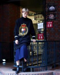 soe Highneck Sweater One-Piece