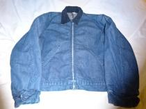 1960~70's Denim Work Jacket with Blanket
