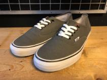 VANS AUTHENTIC (グレー) USED