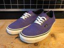 VANS AUTHENTIC (パープル) USED